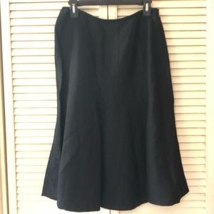 Emma James Black Skirt Petite Fit & Flare